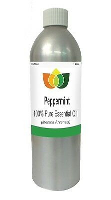 Peppermint Essential Oil Mentha Arvensis 1 Litre - Aromatherapy