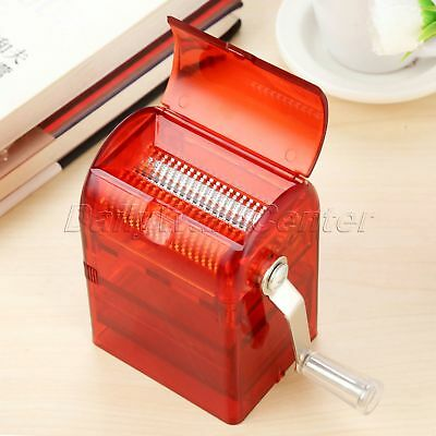 1x Hand Crank Crusher Tobacco Spice Herb Grinder Muller Shredder Smoking Case