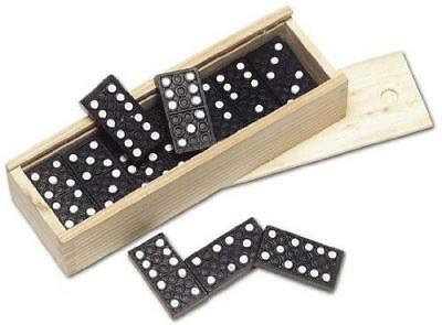 Double Six Dominoes Classic Family Kids Game Traditional Standard Board Travel