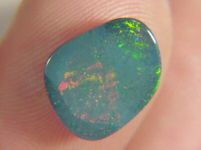 BUTW natural genuine australian opal triplet free form  cabachon   9949B