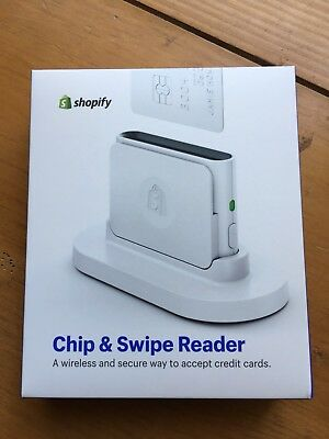 BRAND NEW Shopify Chip and Swipe Credit Card Reader