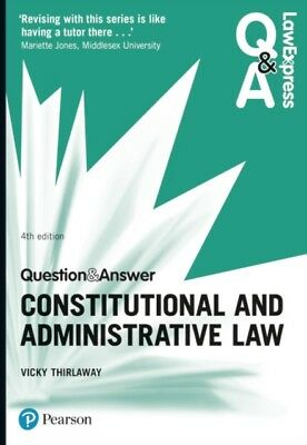 CONSTITUTIONAL & ADMINISTRATIVE LAW, Thirlaway, Victoria, 9781292...
