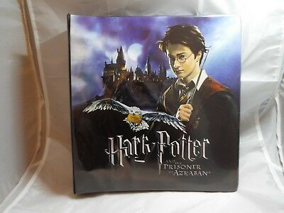HARRY POTTER AND THE PRISONER OF AZKABAN COLLECTORS BINDER (damaged)
