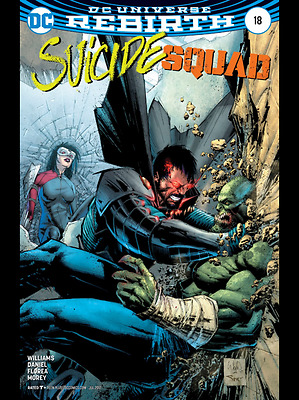 SUICIDE SQUAD #18, VARIANT, New, First Print, DC REBIRTH (2017)