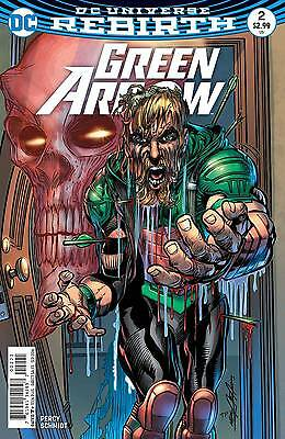 GREEN ARROW #2, VARIANT, New, First Print, DC REBIRTH (2016)