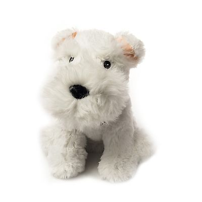 Warmies Microwave Cozy Pet Westie Fully Microwavable Heatable Bed Time Soft Toy