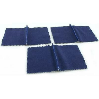 3 Gold Silver Platinum Jewelry Polishing Cleaning Cloth