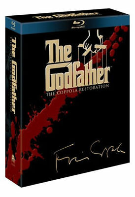 The Godfather - The Coppola Restoration - Part I / Part II / Part III Blu-Ray NE