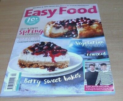 Easy Food magazine APR 2018 Chicken Dinners, Vegetarian Meal Ideas, Sausages &