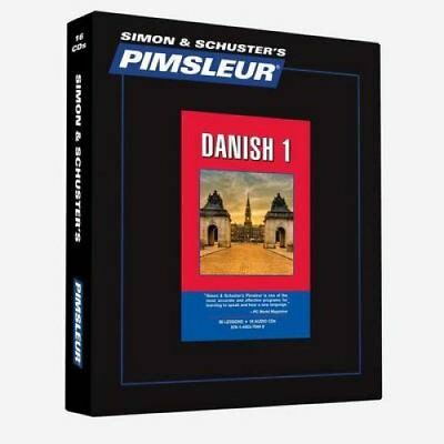Pimsleur Danish Level 1 CD: Learn to Speak and Understand Danish with...