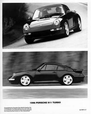 1996 Porsche 911 Factory Photo ca9852