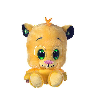 """New Official Disney 6"""" The Lion King Glitzies Soft Plush Toy Simba"""