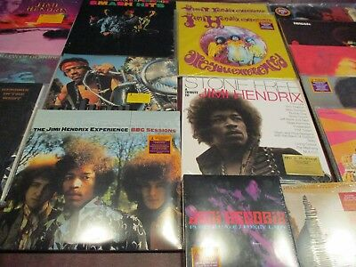 Jimi Hendrix 25 Titles 35 Lp's Some From 1997 Releases + Rare Tributes & Singles