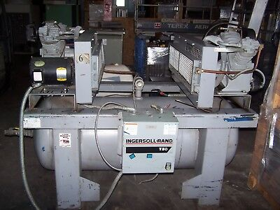 Ingersoll Rand 175 Psig Duplex Reciprocating Compressor 2-2475E5   120 Gallon