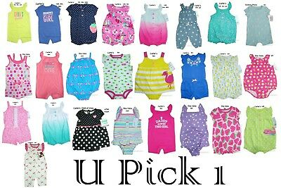 Sunsuit Romper Summer Outfit Creeper Bodysuit Baby One 1 Piece Girls Play Short