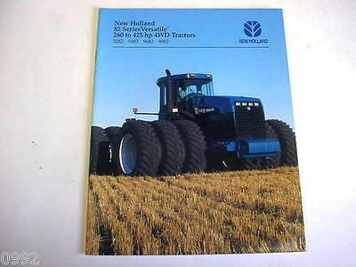 Ford NH 4-Wheel Drive Tractors Brochure 9282, 9482, 9682 & 9882 1995 28 Page