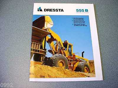 Dressta 555B Wheel Loader Brochure