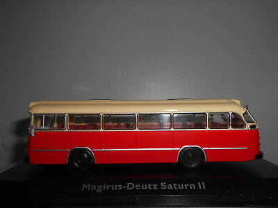 Magirus-Deutz Saturn Ii Bus Collection #118 Premium Atlas 1:72