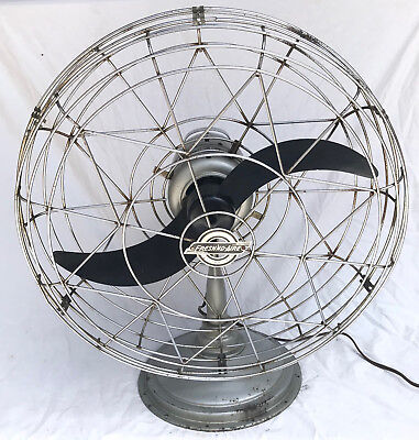 Vintage FRESH'ND AIRE Model 20 Electric Fan W/ Airplane Blade ---WORKS GREAT!!!