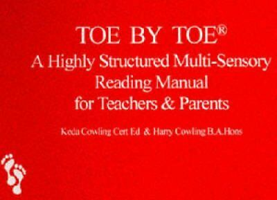 Toe by Toe A Highly Structured Multi-sensory Reading Manual for... 9780952256403