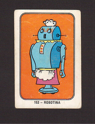 The Jetsons Rosie Robot Maid 1960s Hanna Barbera Cartoon Card from Spain #153