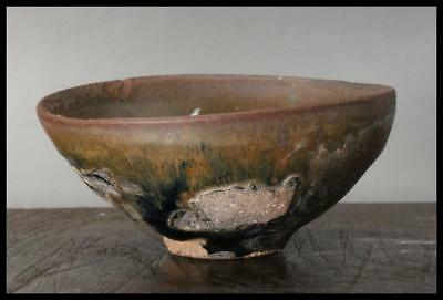 CCVP10 Chinese Antique Tenmoku bowl pottery Southern Song Dynasty
