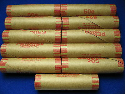 ~ Ten Premium Rolls Full Of Wheat & Indian Cents From Old Lot + 1 Free Roll ~