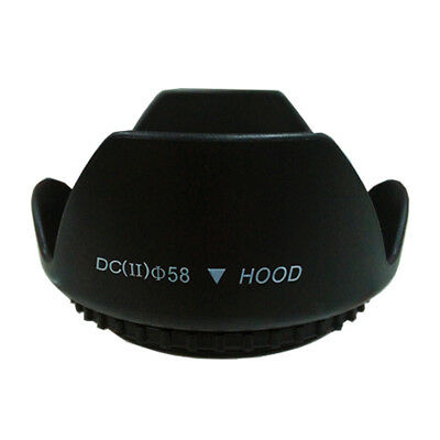 New 49mm Flower Shape Petal Lens Hood for Canon Nikon Sony Pentax DSLR Camera