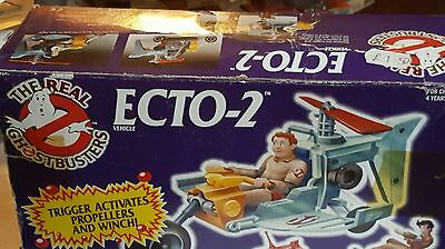 The Real Ghostbusters Ecto-2, 1987 kenner, UK Version, RARE, b1bla