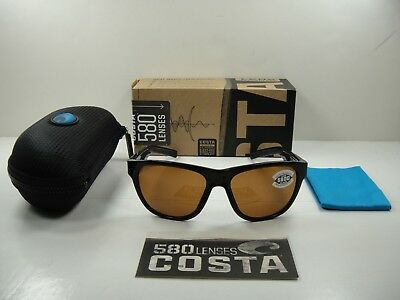 bdc1ec585f Costa Del Mar Bayside Polarized Bay11 Ocglp Sunglasses Black copper Glass  580G