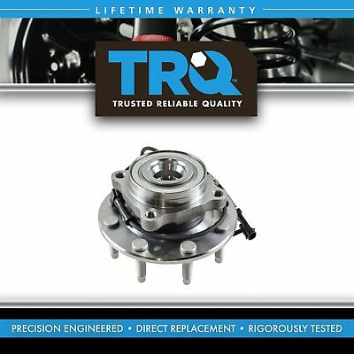 TRQ ABS Front Wheel Hub & Bearing Assembly for Chevy GMC Pickup Truck 8 Lug