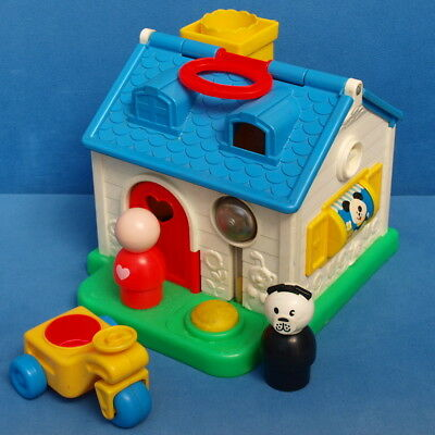 Fisher Price Discovery Cottage # 136 Vintage Spielhaus Jumbo Little People