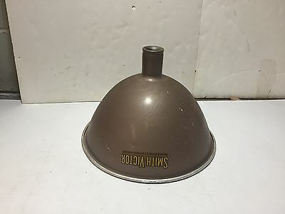 Vtg smith victor photograph aluminum lamp shade griffith indiana vtg smith victor photograph aluminum lamp shade griffith indiana industrial aloadofball Gallery