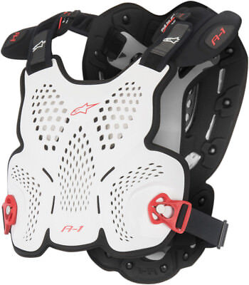 Alpinestars A-1 Roost Guard White/Black/Red Mens All Sizes