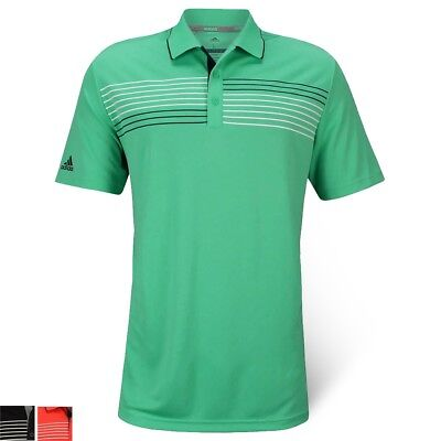Adidas Essential Textured Men's Golf Polo - Multiple Colors/Sizes - New