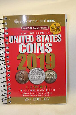 2019 Official Price Guide Red Book of United States Coins - FREE USA SHIPPING