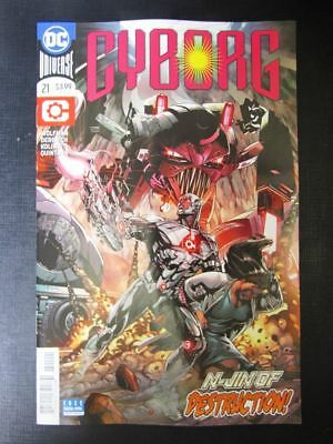 Cyborg #21 - June 2018 - DC Comic # 11A15