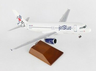 Skymarks SKR8371 Jetblue Airbus A320 NY's Hometown 1/100 Desk Top Model Airplane
