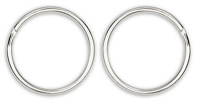 25 - 1 Inch Split Ring Key Chain Rings Closeout