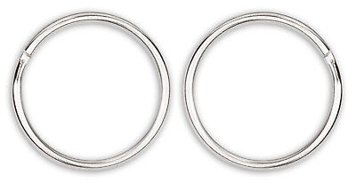 100 - 1 Inch Split Ring Key Chain Rings Closeout