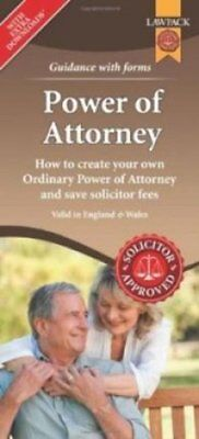 Power of Attorney Form Pack How to Create Your Own Ordinary Pow... 9781909104204