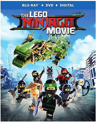 The LEGO NINJAGO Movie (Blu-ray Disc, 2017)