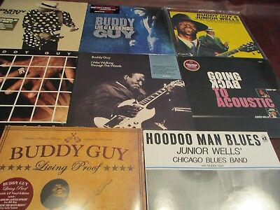 Buddy Guy I Was Walking Thru Woods 180 Gram Collection 10 Titles Total 16 Lpset