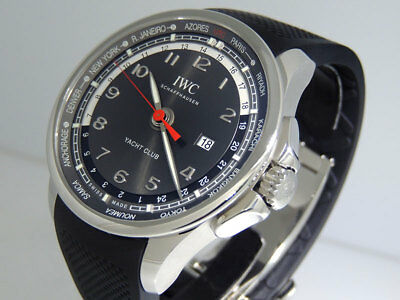 premium selection 05b62 be414 IWC PORTUGUESE YACHT Club Worldtimer IW326602 45mm LTD $9,800 NIB