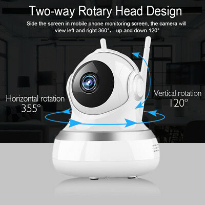 1080P Home Security HD IP Wireless Smart WiFi Audio Surveillance CCTV Camera US