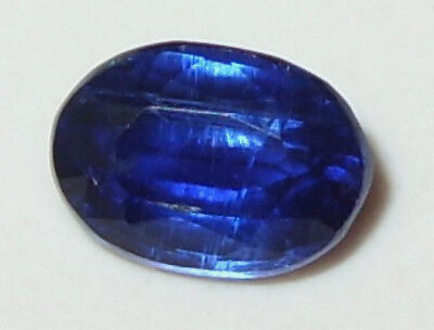 1.13ct Beautiful Top Color Nepal Blue Kyanite Oval Cut 7.2x5.2mm SPECIAL