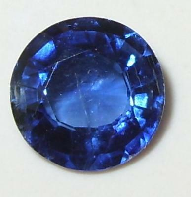 1.77ct Beautiful Color Nepal Blue Kyanite Round Cut 8mm SPECIAL