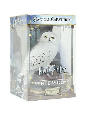 Harry Potter Collector Magical Creatures #1 Hedwig Harry Snowy Owl Acrylic Case