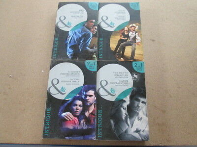 4 Intrigue 2 In 1 Mills Boon Colby Control