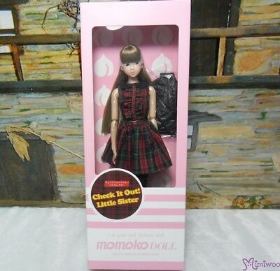 Momoko 1/6 Girl Fashion Doll Check It Out! Little Sister ~ FREE Ship Worldwide ~